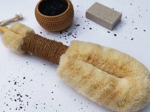 Sisal Body Brush Large, UK body care brand ELYTRUM
