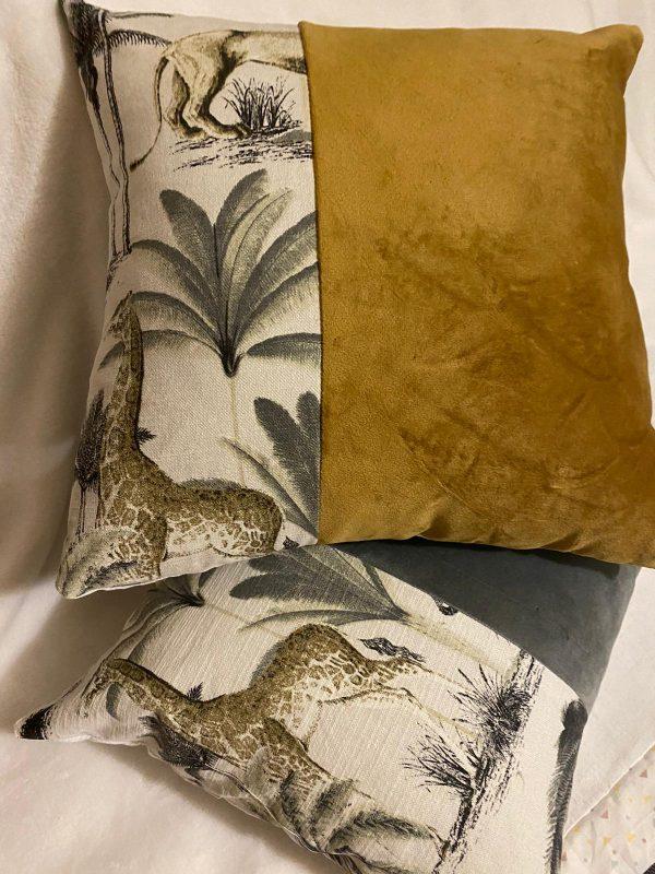 animal print and plush velvet mixed 1