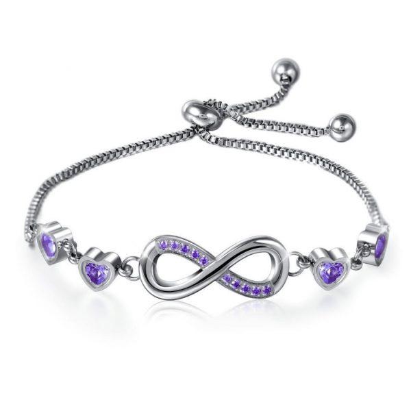 Purple Braclet