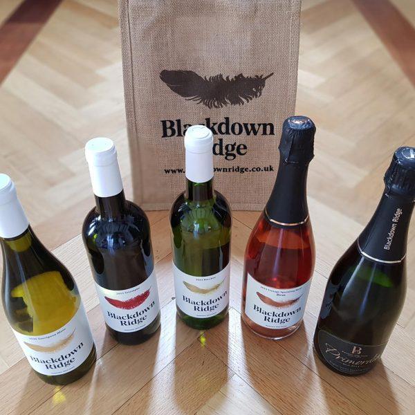 Local English Wine Range case