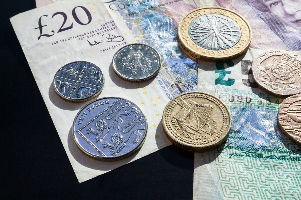 pound, coins, currency