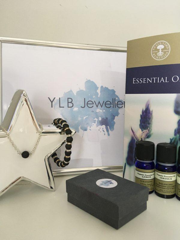 Lava stones with essential oils