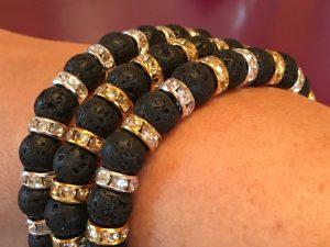 Lava beaded bracelets