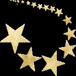 gold foil, stars, shooting star-5890261.jpg